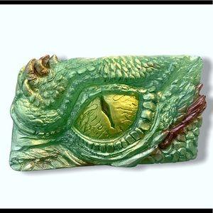 Handmade glycerin or goats milk dragon eye soap